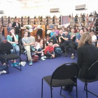 מפגש בספריית מיתרים רעננה